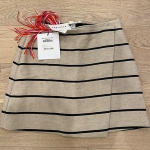 MSGM striped mini skirt